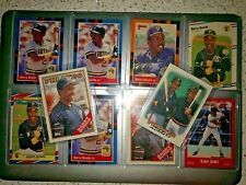 1988 Barry Bonds 10 Card Lot - Donruss, Fleer, Leaf, O-Pee-Chee, Topps & More