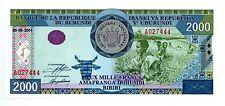 Burundi ... P-41 ... 2000 Francs ... 2001 ... *UNC*