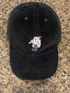 NWT Polo Ralph Lauren Boys Polo Ski Bear Black Corduroy Baseball Cap Size 4-7
