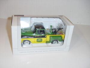 1/25 John Deere 1957 Chevy Pick-Up Truck W/Snow Blower by SpecCast NIB!