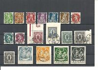 Bayern, 1920 Michelnummern: 178 - 195 o, gestempelt o, Katalogwert € 250,00