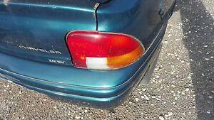 chrysler neon sedan left right hand tail light