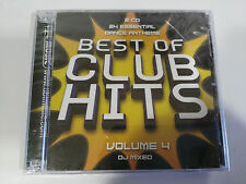 BEST OF CLUB HITS VOLUME 4 DJ MIXED DANCE ANTHEMS - 2 X CD NEW SEALED NUEVO