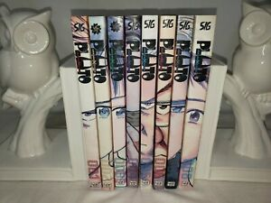 Pluto Manga Complete Set 1-8 - Naoki Urasawa English - EXCELLENT Condition