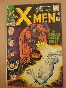 X-Men 18 1966 Kirby Art VF-VG