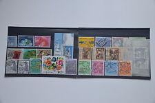26x Briefmarken Schweiz 1988,fast komplett,gestempelt, sehr guter Zustand