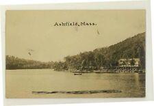 1910 era Ashfield Massachusetts Real Photo Postcard RPPC