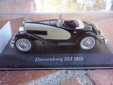 1/43 DUESENBERG / MODEL SSJ / SPIDER / ROADSTER / 1933 / IXO POUR ALTAYA / NEUVE