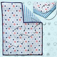 Disney Baby Bedding Mickey Mouse 3-Piece Portable Crib Bedding Set