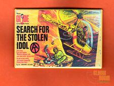 "GI Joe Search for the Stolen Idol 2x3"" fridge/locker magnet box art Hasbro"