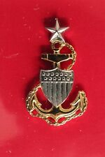 Uscg Coast Guard Reduced Size Scpo Senior Chief Petty Officer Garrison Cap Badge