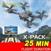 Foldable Drone 25 Mins Flight Quadcopter 5MP WIFI 1080P Drones with HD Camera