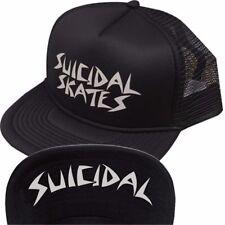 Dogtown X Suicidal Tendencies SUICIDAL SKATES Skateboard Trucker Hat BLACK