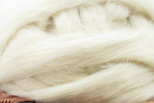 Cotswold Wool Top Roving - Undyed Natural Spinning Fiber / 1oz