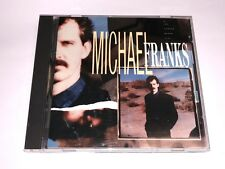 Michael Franks CD The Camera Never Lies 1987 DADC USED Columbia House club issue