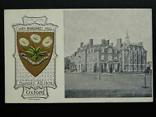 More details for oxford varsity city lady margaret hall founded a.d.1284 c1905 postcard