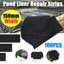100Pcs Pond Liner Tape Self Adhesive  Repair EPDM  H2