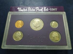 United States Proof Set 1987