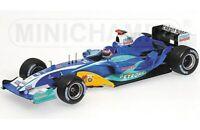 MINICHAMPS various SAUBER F1 cars H H Frentzen G Fisichella J Villeneuve 1:43rd