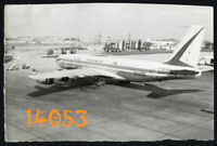 Vintage Photograph, airport, Air France, Boeing 707 F-BHSD 1970's