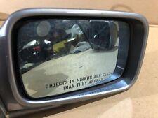 BMW E30 DRIVER SIDE MIRROR GRAY 51168106597-R5S4