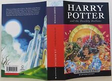 J.K. ROWLING Harry Potter And the Deathly Hallows (Book 7) INSCRIBED 1ST EDITION