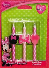 Minnie Mouse Icon Candles,Birthday,Disney,DecoPac,Multi-Color,Cake Decoration