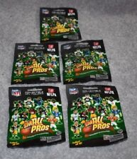 5 PACKAGES NFL FOOTBALL SMALL PROS SERIES ONE FIGURES