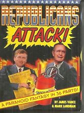 REPUBLICANS ATTACK - TRADING CARDS - BUSH, QUAYLE, NIXON - 1992 KITCHEN SINK