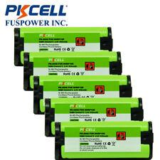 5x 2.4V 850mAh Telephone Batteries for Panasonic HHR-P105 HHRP105 Type31 BT-1009