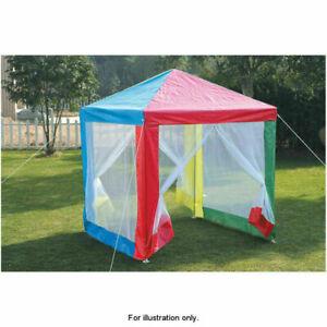 Kids Club Multicoloured Kids Gazebo With Side Walls Tent Size 150 x 150 x 170cm