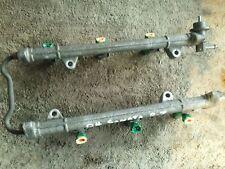03-08 Tiburon 99-05 Sonata 01-06 Santa Fe 2.7 Fuel Injector Rail w/ Injectors