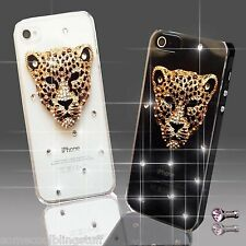 NEW ANIMAL DIAMOND MOBILE CASE COVER SAMSUNG iPHONE SONY HTC 4S 5 5S S6 S5 Mini