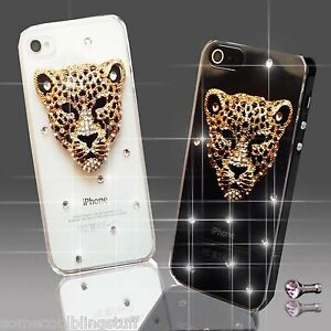 NEW ANIMAL GOLD DIAMOND MOBILE CASE COVER SAMSUNG iPHONE SONY HAUWEI S8 S9 X UK