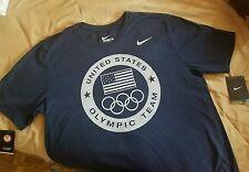 NIKE USA OLYMPIC TEAM DRI FIT SHIRT SIZE L