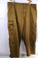 REI Mens Hiking Fishing Hunting Outdoors Pants Brown Size W42 L30  8 Pockets