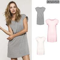 Kariban Women's Long T-Shirt (K388) - Ladies Short Sleeve Casual Top