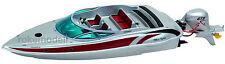 GRAUPNER 2001 WP Silver Spirit RC barca con aussenbordmotor RTR Prezzo della