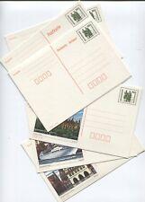 DDR 1990 Postkarten P 107- P 109 komplett ungebraucht sehr gut erhalten (B07853)
