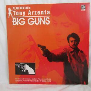GIANNI FERRIO - OST : TONY ARZENTA... BIG GUNS (EASY TEMPO) - DOUBLE GATEFOLD LP