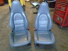 PORSCHE BOXSTER 986 2.5 GREY LEATHER SEATS  BOXSTER SEAT PARTS   R857 KAR
