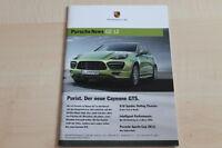 102337) Porsche Cayenne GTS - Porsche News - Prospekt 02/2012
