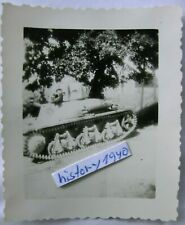 Foto mit Beute - Panzer in Frankreich.(11)