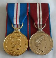 Golden Jubilee Medal, Queens Diamond Jubilee, Mounted, Full Size, Army, Ribbon