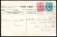 BRITISH NEW SOUTH WALES TO USA Circulated Postcard 1908 VF