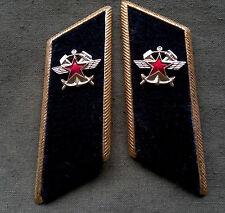 Kragenspiegel Eisenbahn Uniform UDSSR Sowjet Armee