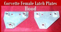 Corvette Parts 1960 1961 1962 Female Hood Latch Firewall Reinforcement plate