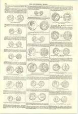 1846 Ancient Coins Of Greece And Rome Mentioned Bible