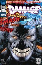 DAMAGE #5 DC DANIEL SCOTT NEVES DARK NIGHTS METAL BATMAN POISON IVY GRODD 51618