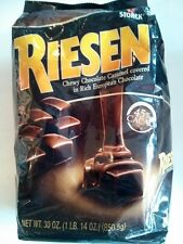 30oz Riesen Chewy Chocolate Caramel Covered Rich European Chocolate Candy,Storck